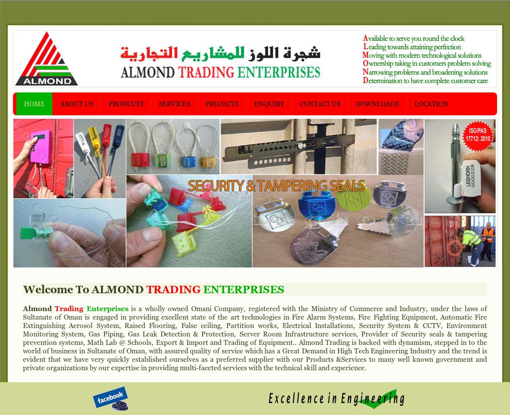 Almond Trading Enterprises Competitors, Revenue and