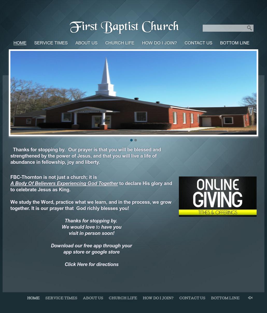 First Baptist Church ~~ Thornton, Arkansas Competitors