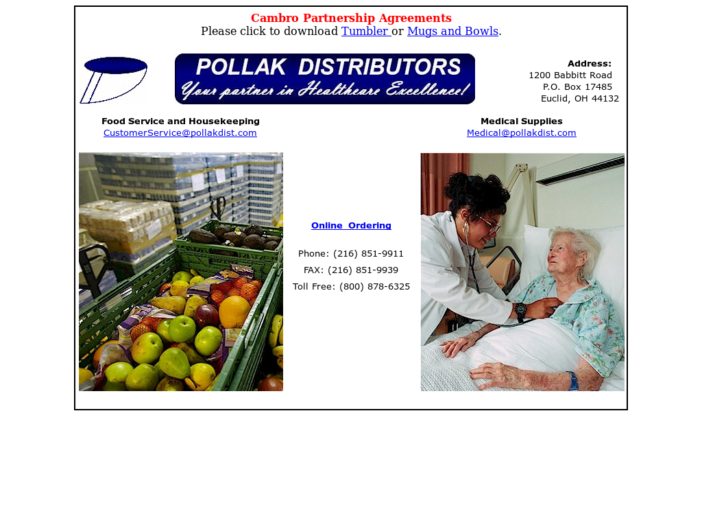 Pollak Food Distributors Competitors, Revenue and Employees - Owler