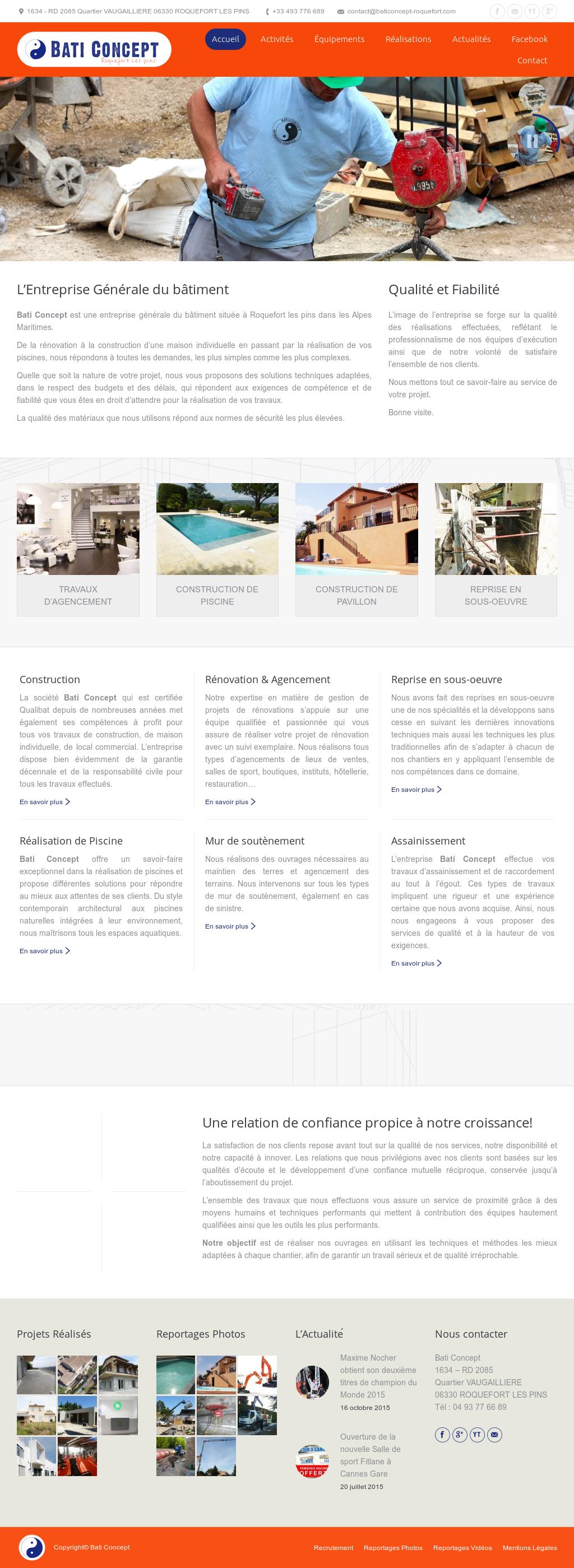 Entreprise Generale De Batiment 77 bati concept competitors, revenue and employees - owler