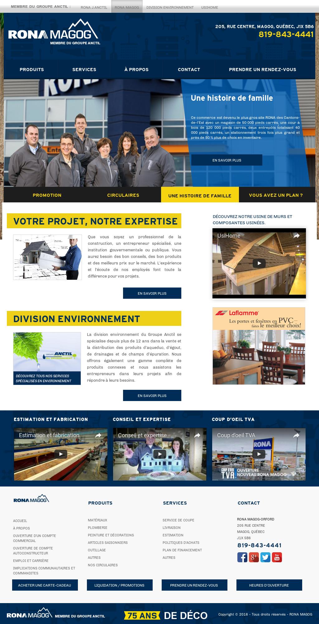 Carte Rona Accord D.Rona Magog Competitors Revenue And Employees Owler Company Profile