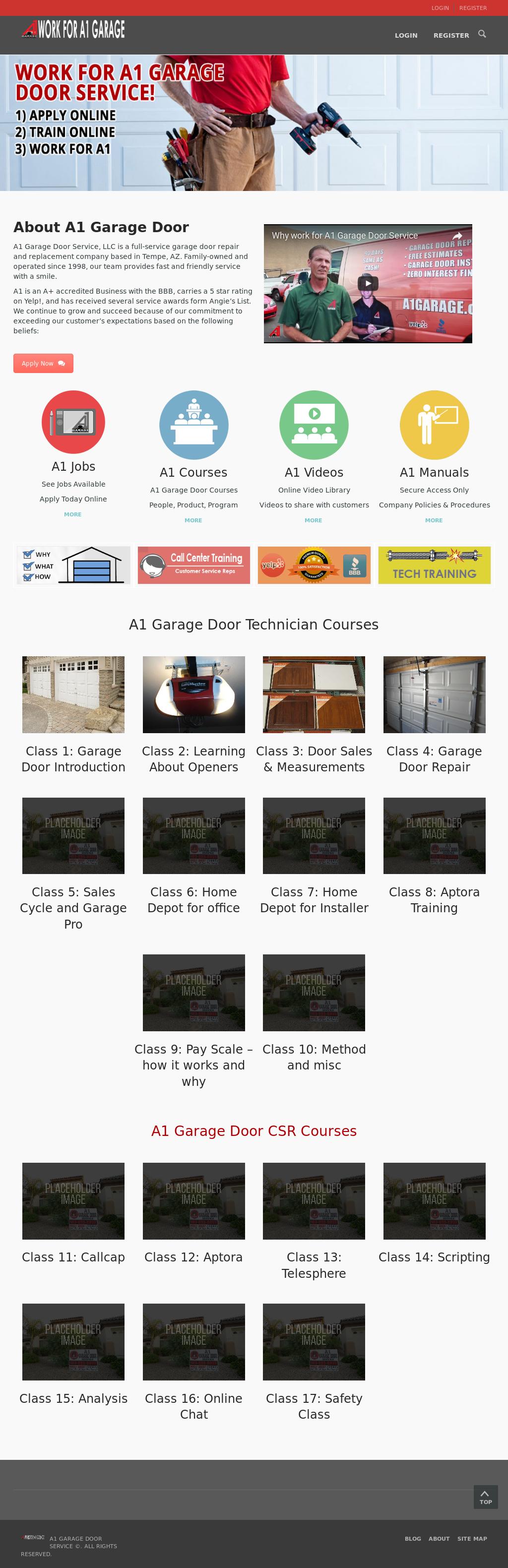 A1 Garage Door Repair Tempe Az Dandk Organizer