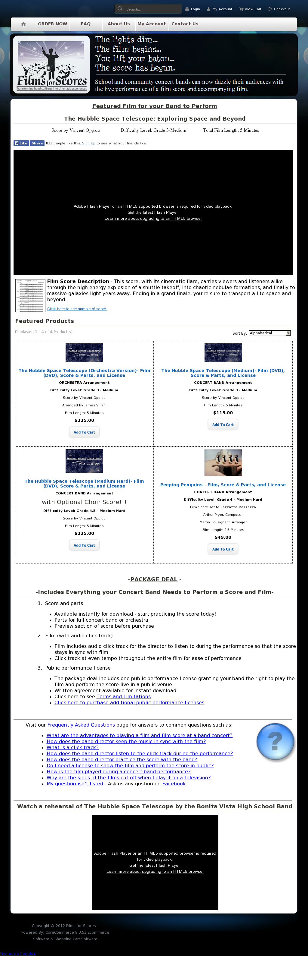 Films & Scores For Concert Bands Competitors, Revenue and Employees