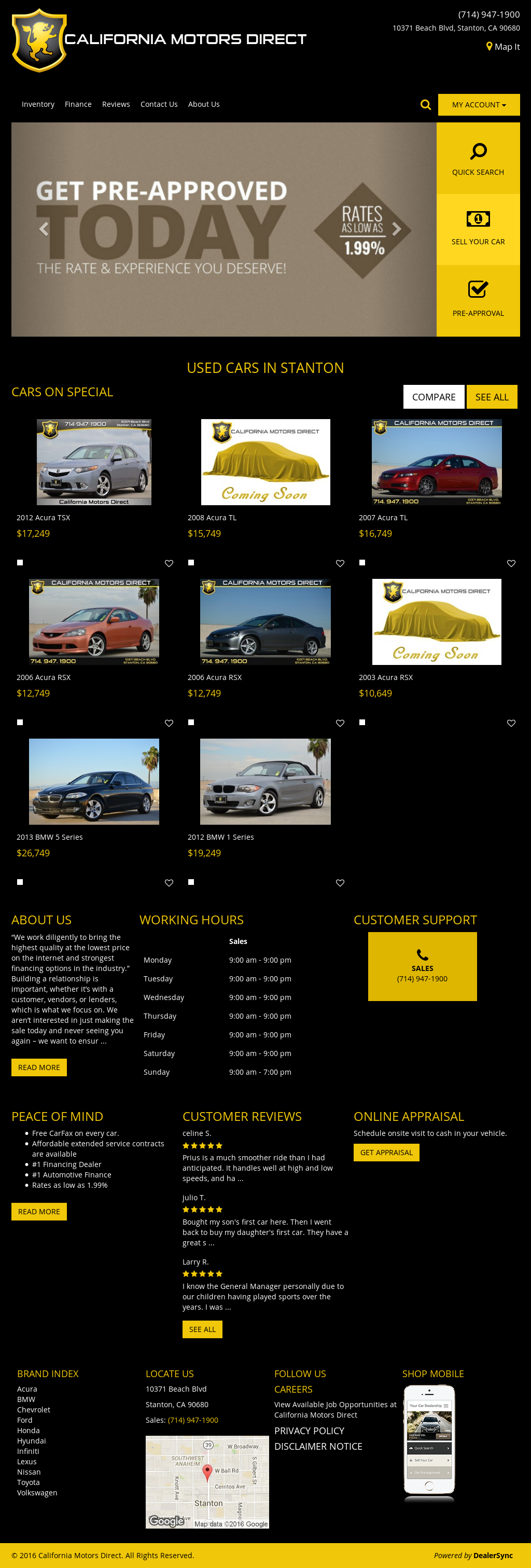 California Motors Direct Company Profile Owler