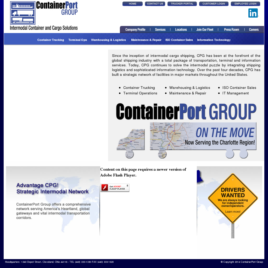 ContainerPort Group Competitors, Revenue and Employees