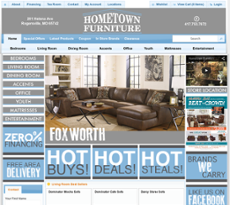 Hometown Furniture Company Website History