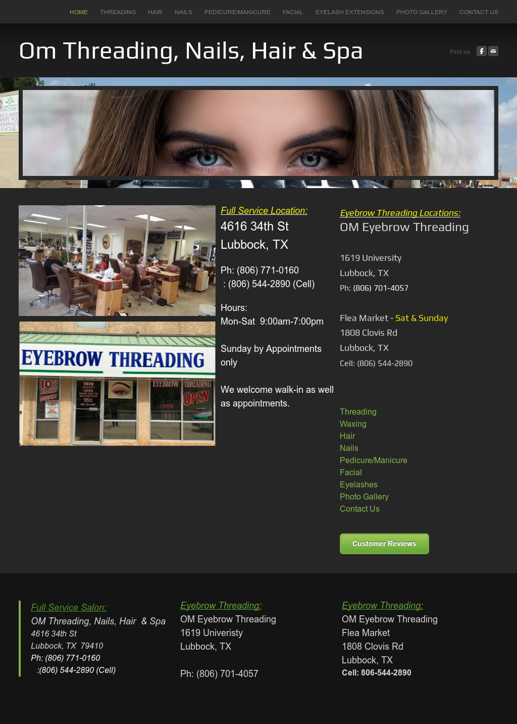 Om Threading Nails And Spa Competitors Revenue And Employees
