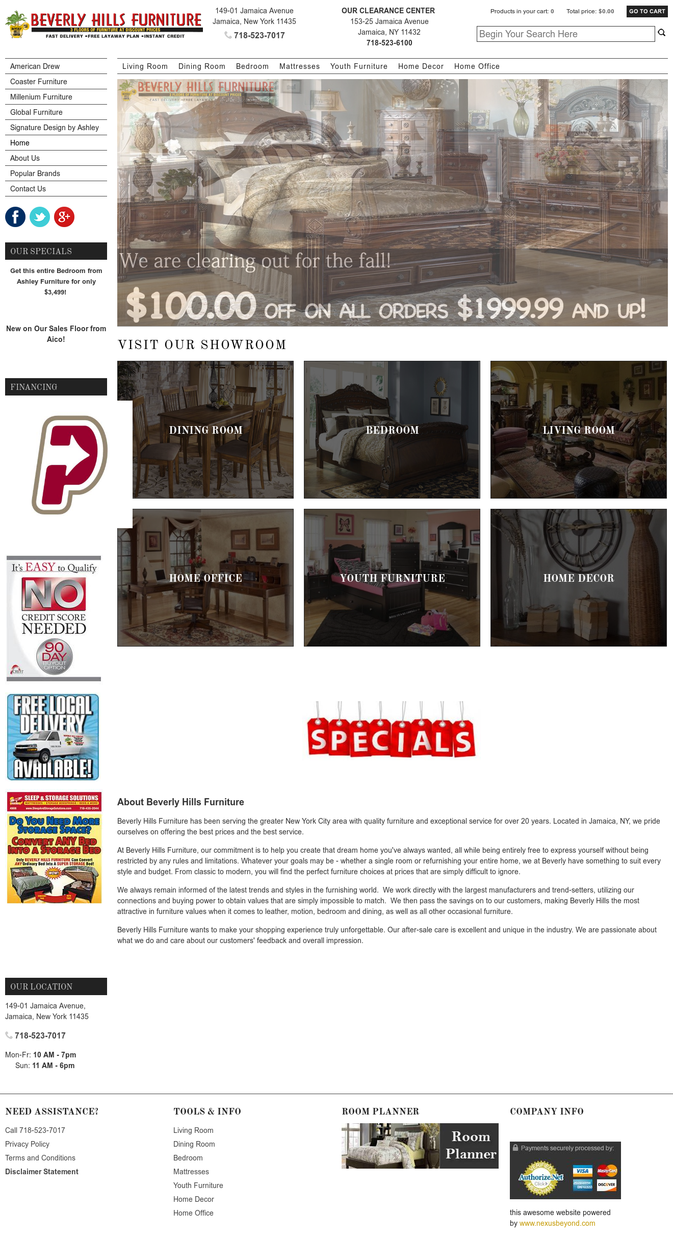 Beverly Hills Furniture Compeors Revenue And Employees Owler Company Profile