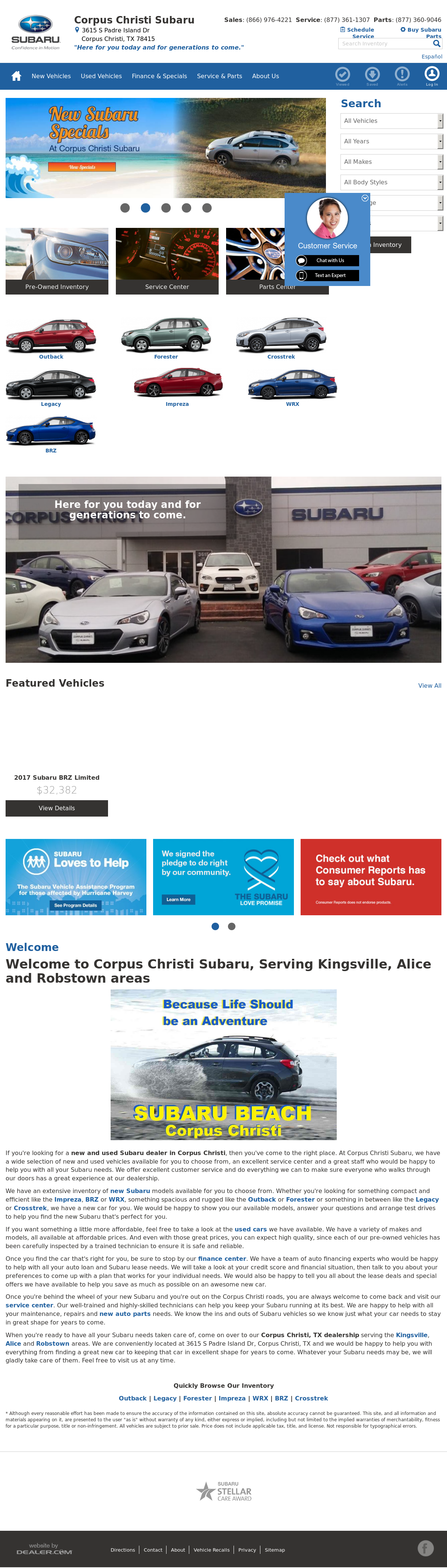 Corpus Christi Subaru >> Corpus Christi Subaru Competitors Revenue And Employees Owler