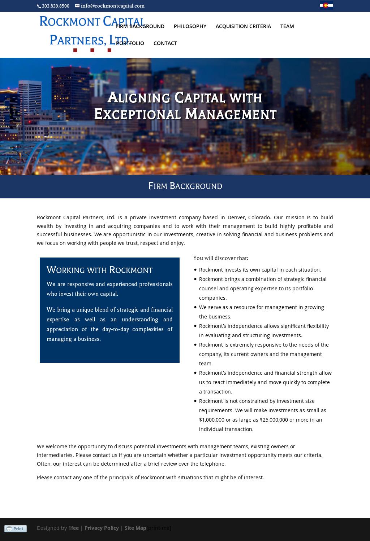 Rockmont Capital Partners Ltd