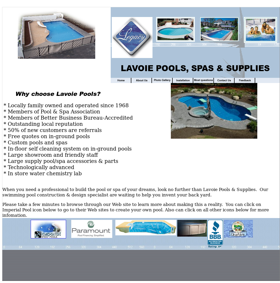 Roger Lavoie Swimming Pool Competitors Revenue And Employees