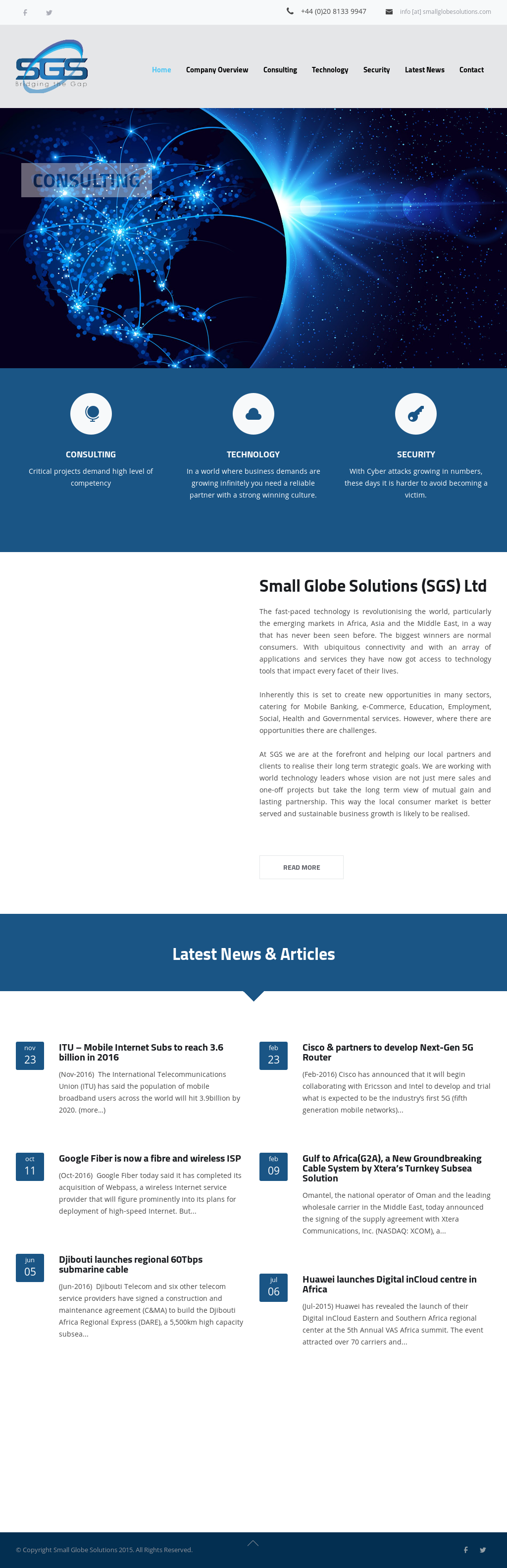 Small Globe Solutions Competitors, Revenue and Employees - Owler