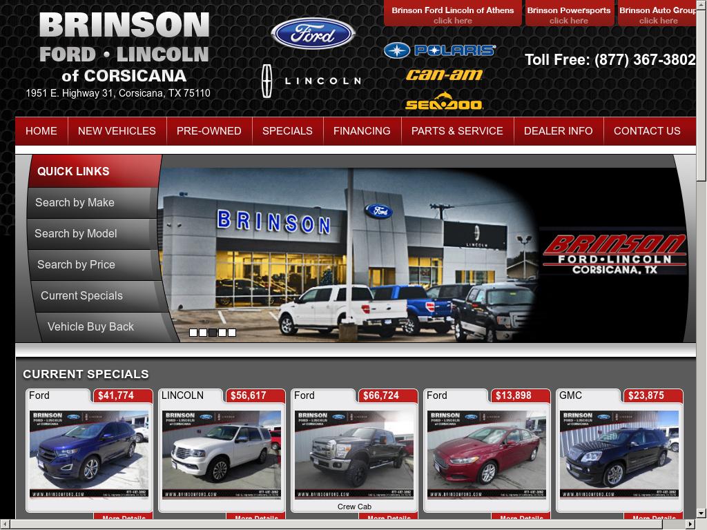 Brinson Ford Corsicana >> Forddealercorsicanatx Competitors Revenue And Employees