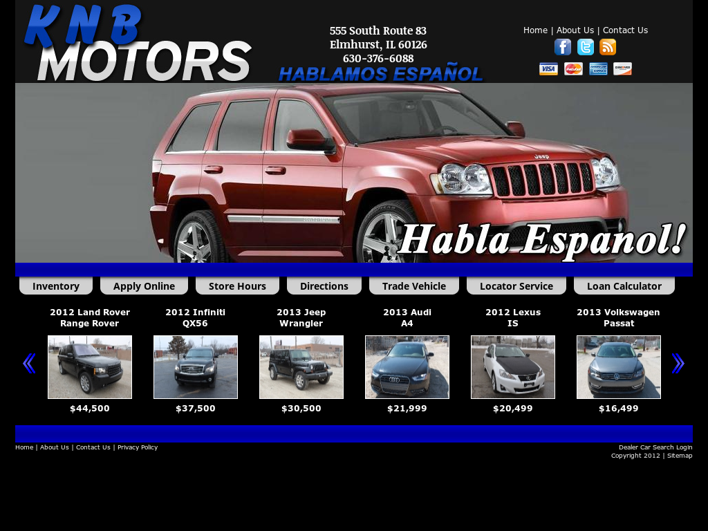 Knb Motors Inc Impremedia Net