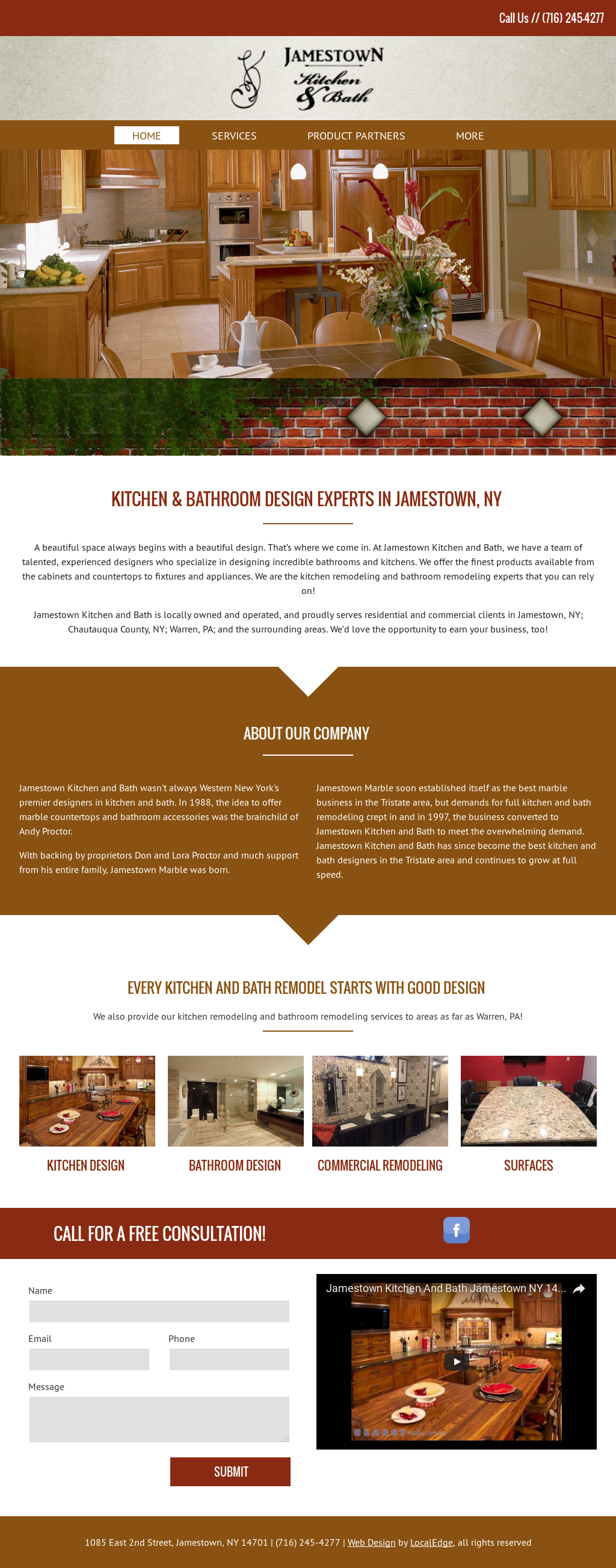 Jamestown Kitchen & Bath Competitors, Revenue and Employees - Owler ...