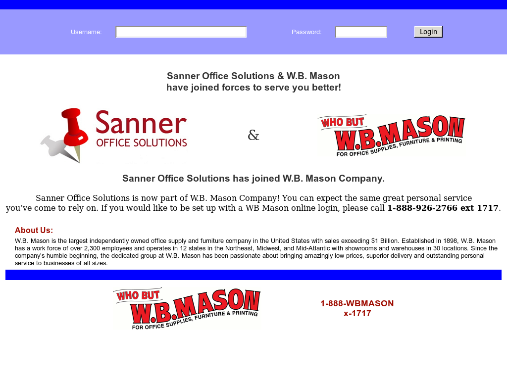 Merveilleux Sanner Office Supply And Interiors Website History