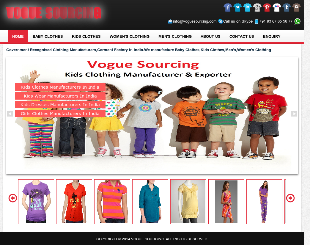 Vogue Sourcing Competitors, Revenue and Employees - Owler