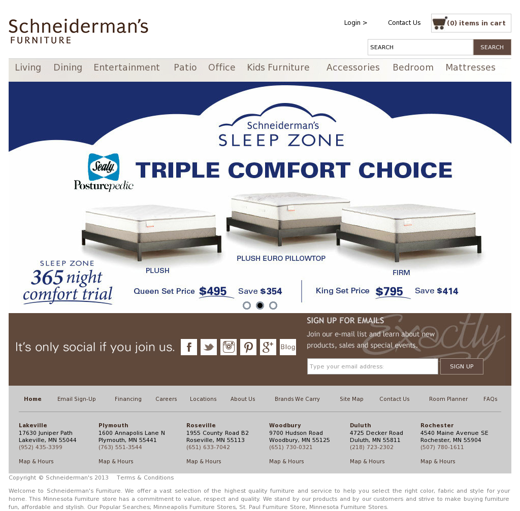 Schneiderman S Competitors Revenue And Employees Owler