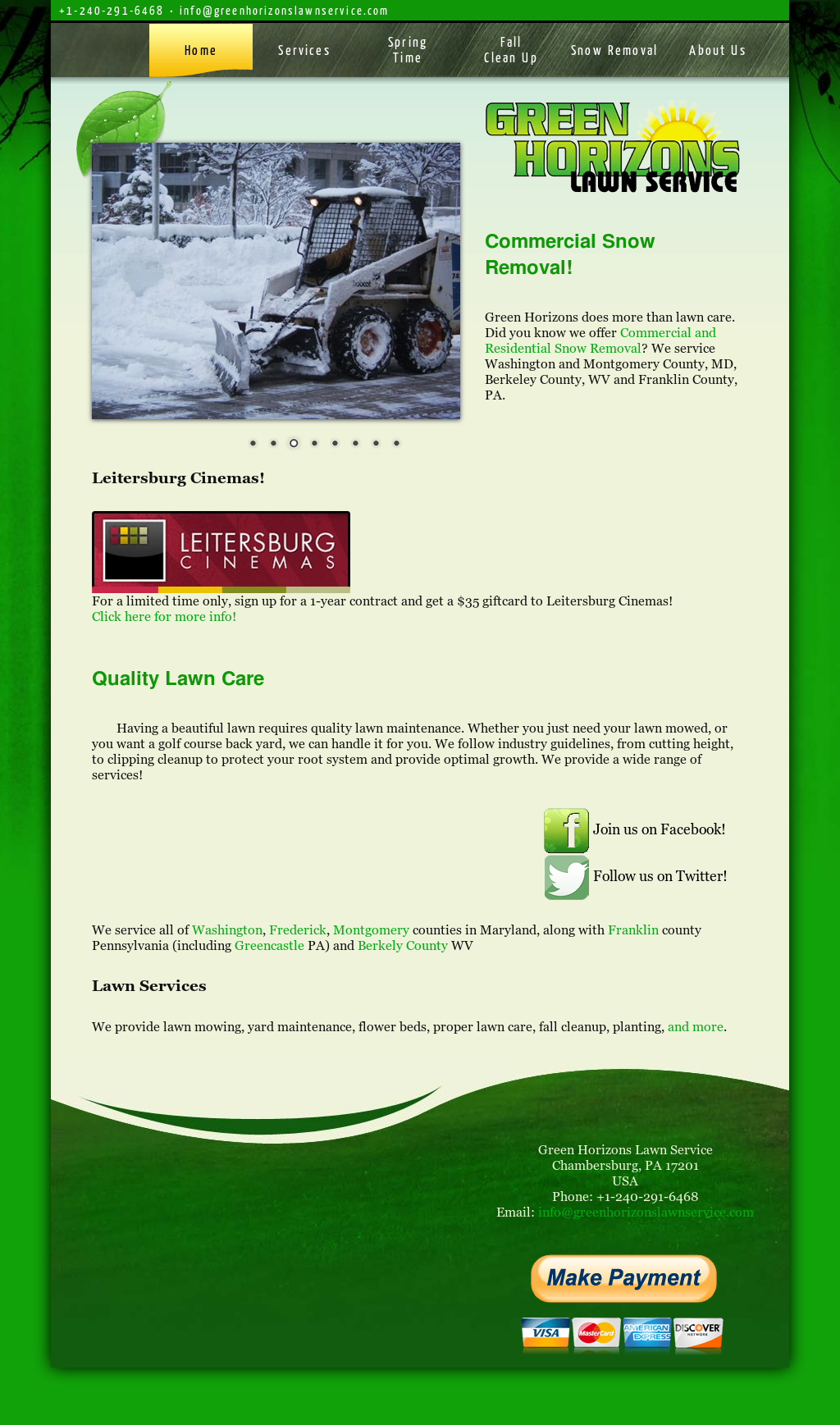 Green Horizons Lawn Service Compeors Revenue And