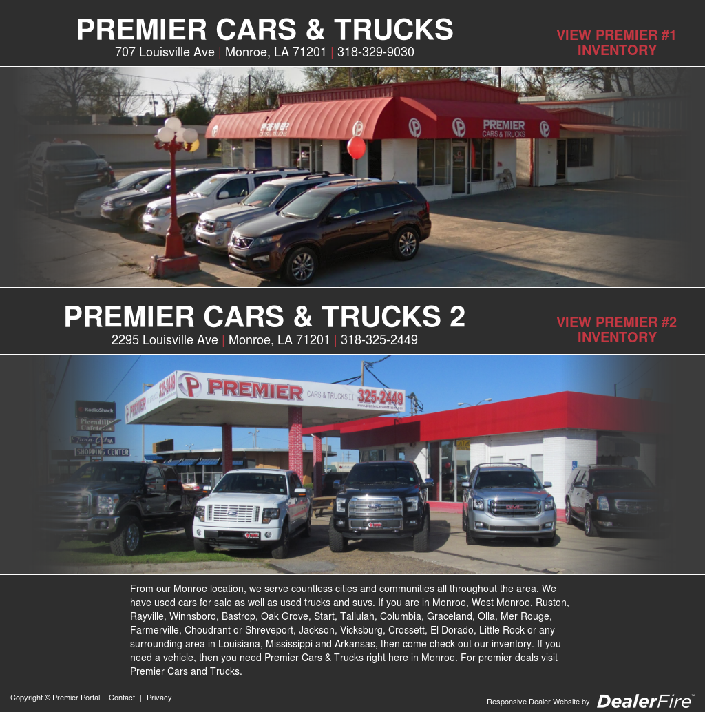 Premier Cars Trucks Competitors Revenue And Employees Owler