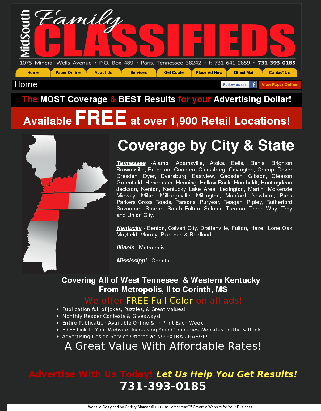 Midsouth Family Classifieds Competitors, Revenue and