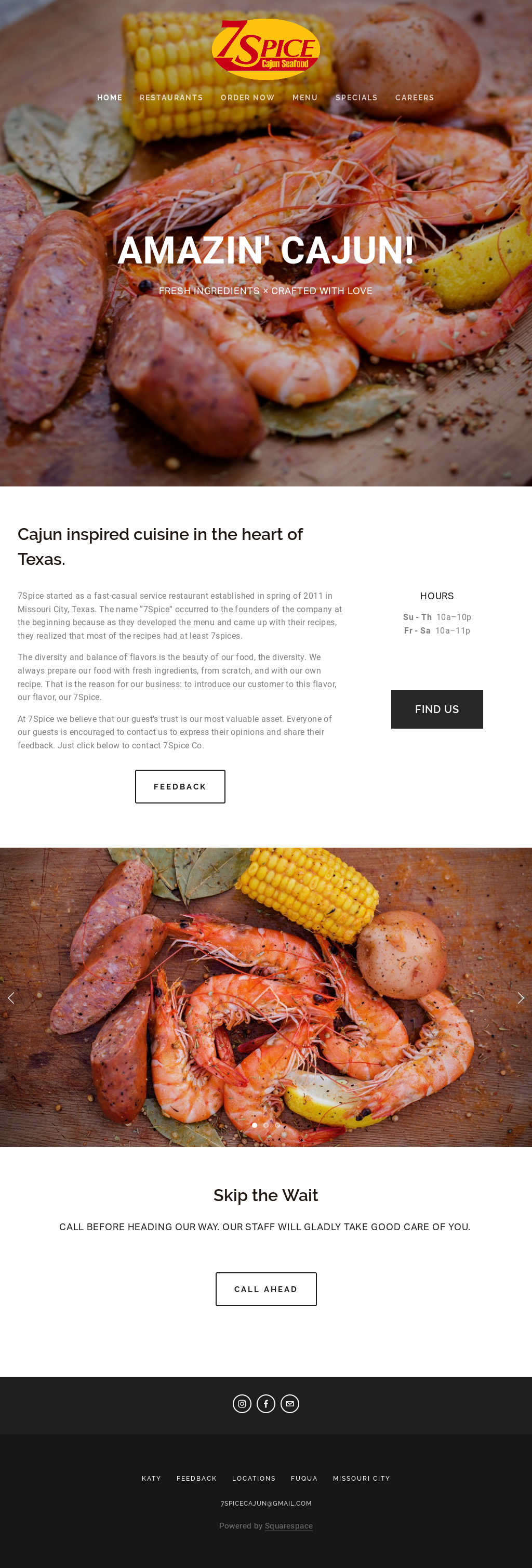 7 Spice Seafood Kitchen Competitors, Revenue and Employees - Owler ...
