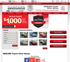 Darcars Toyota Silver Spring Competitors Revenue And Employees