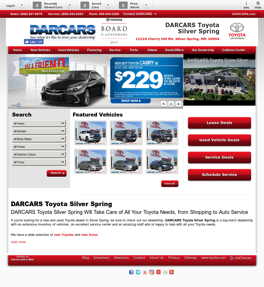 Darcars Toyota Scion Silver Spring Competitors, Revenue And Employees    Owler Company Profile