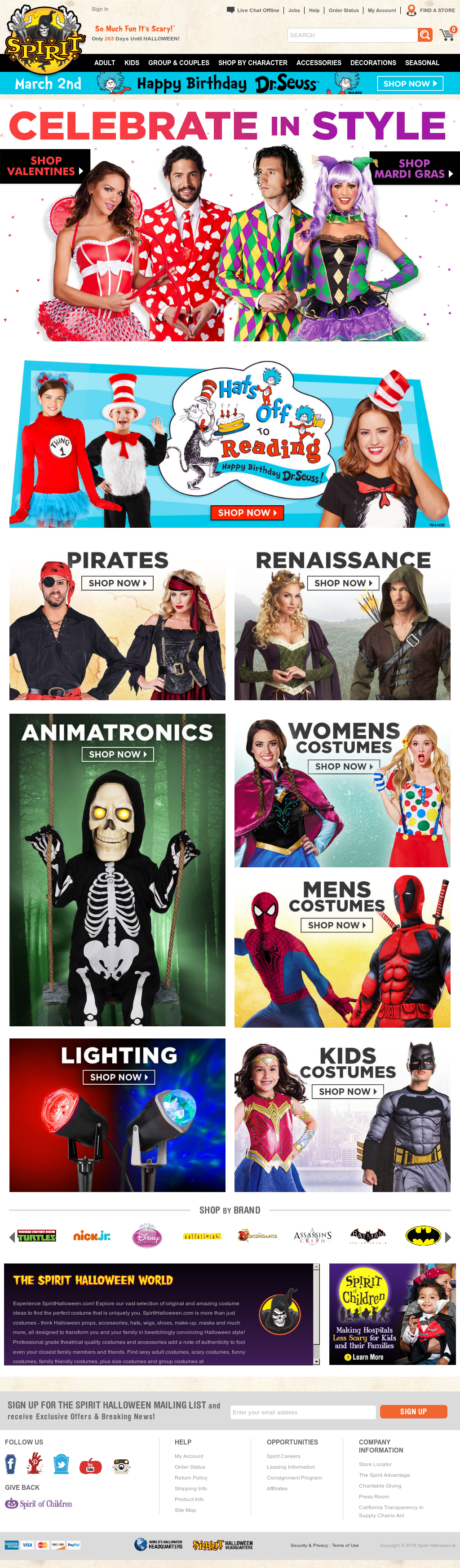 9a80f70ae Spirithalloween Competitors, Revenue and Employees - Owler Company Profile