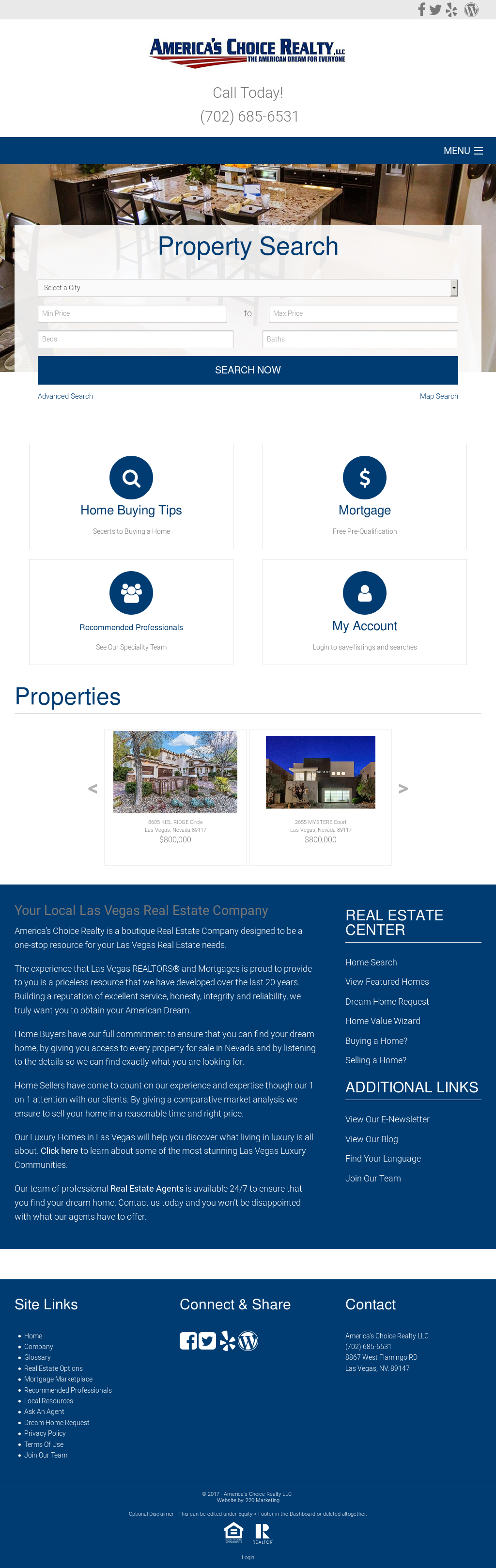 America S Choice Realty Compeors Revenue And Employees Owler Company Profile