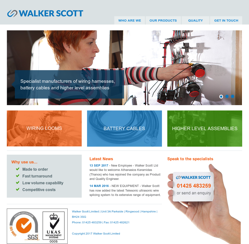 Walker Scott Competitors, Revenue and Employees - Owler Company Profile