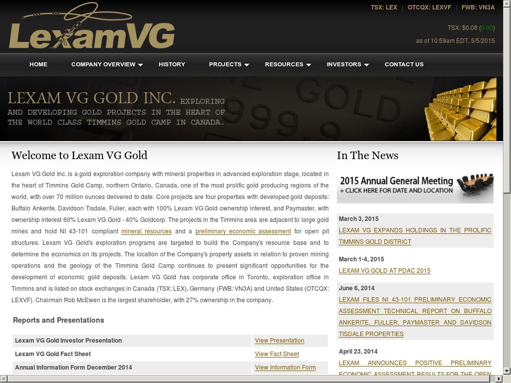 Lexamexploration Competitors, Revenue and Employees - Owler
