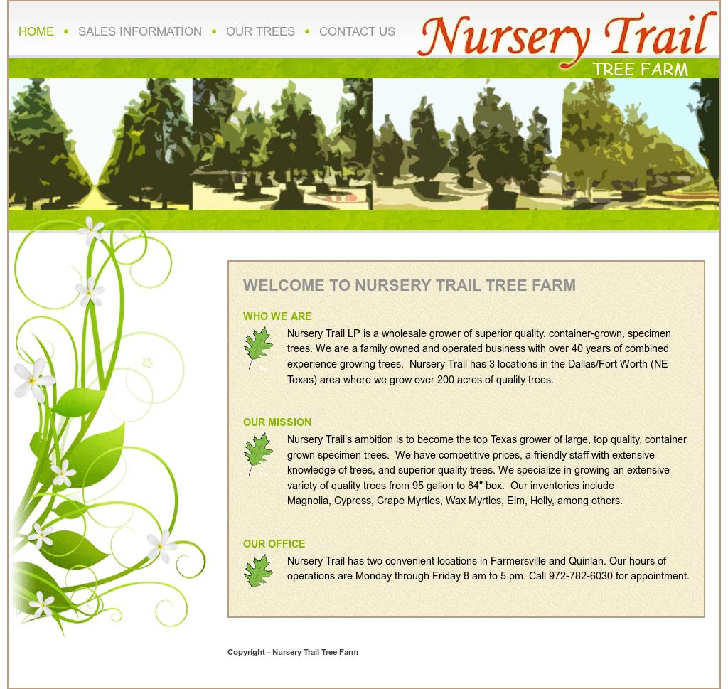Nursery Trail Tree Farm Compeors