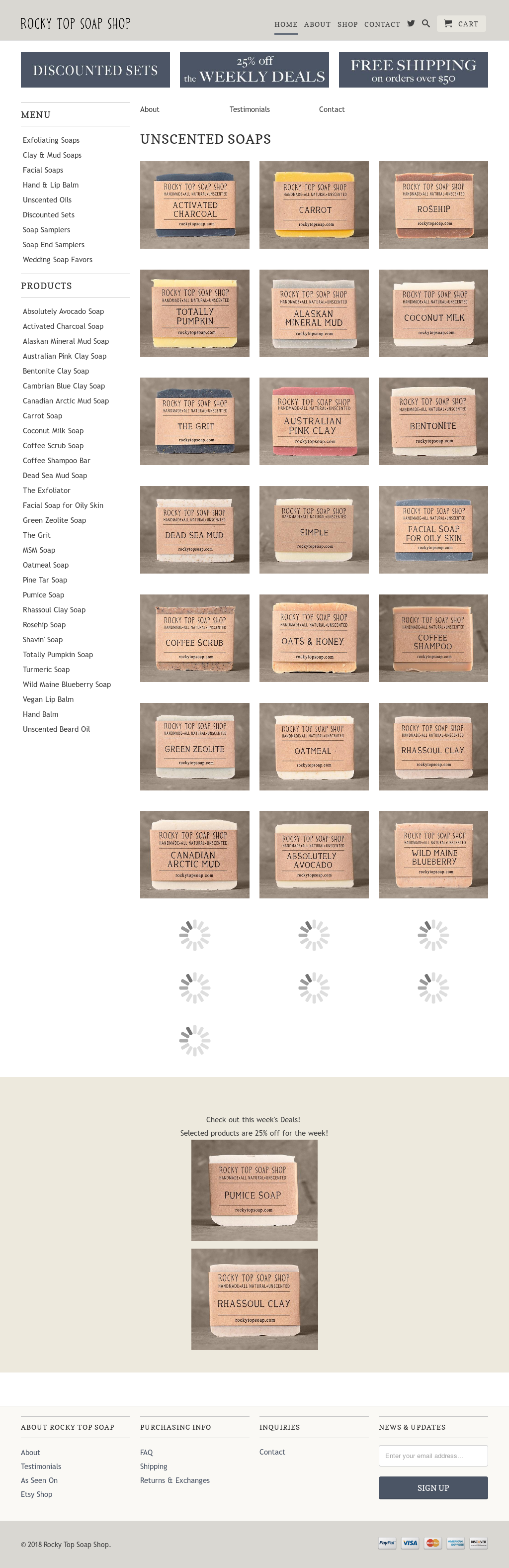 Rocky Top Soap Shop Competitors, Revenue and Employees