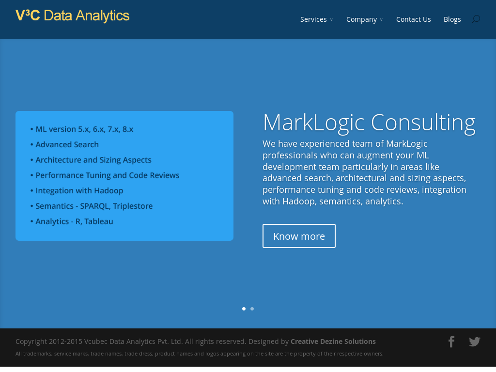 Vcubec Data Analytics Competitors, Revenue and Employees