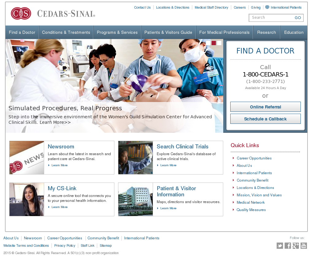 Cedarssinai Competitors, Revenue and Employees - Owler