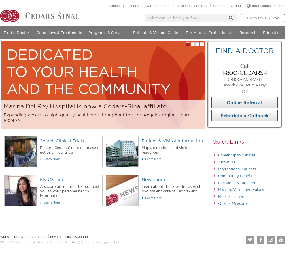 Cedarssinai Competitors, Revenue and Employees - Owler Company Profile