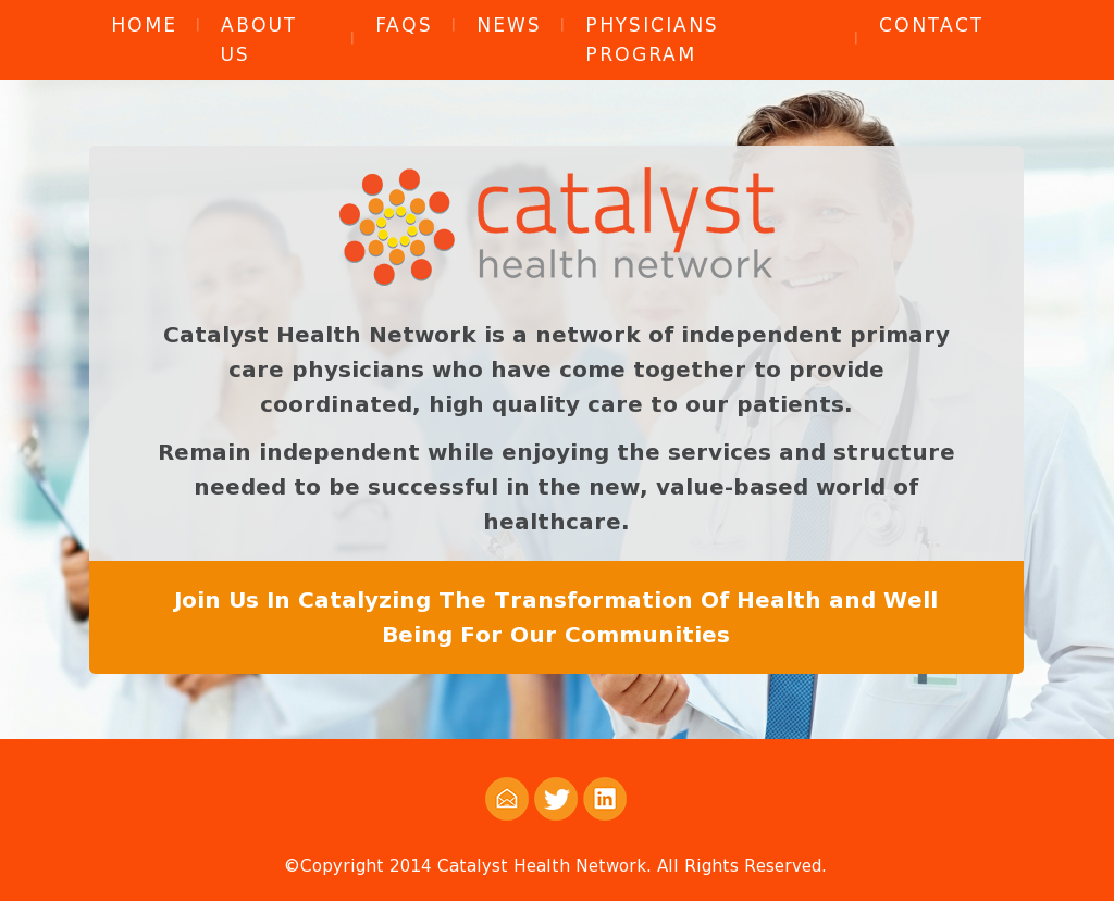 Catalyst Health Network Competitors, Revenue and Employees