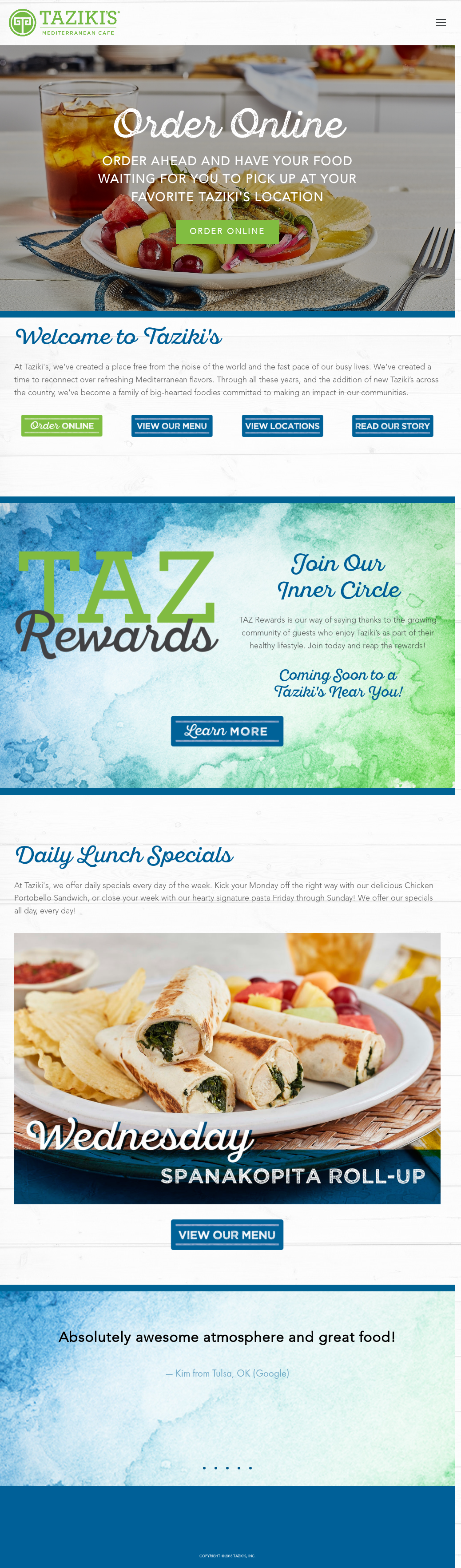 Taziki\'s Competitors, Revenue and Employees - Owler Company Profile