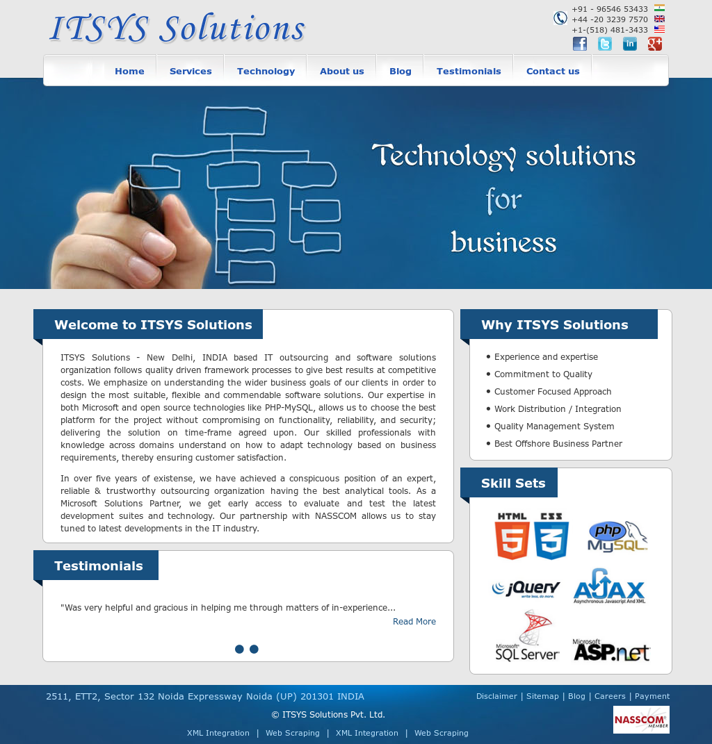904661ce05d ITSYS Solutions Competitors, Revenue and Employees - Owler Company Profile