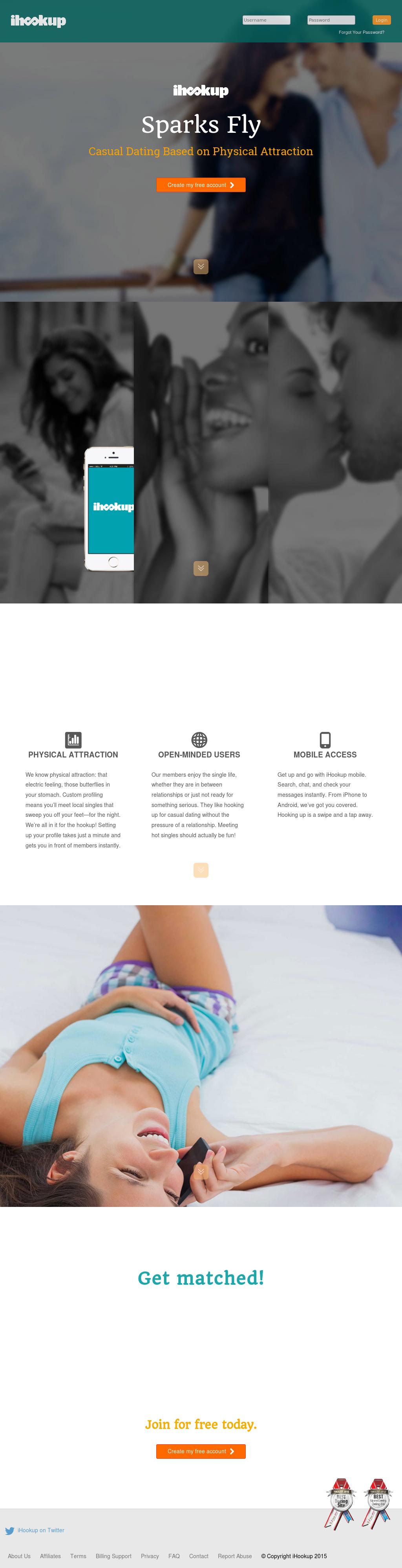 Ihookup website