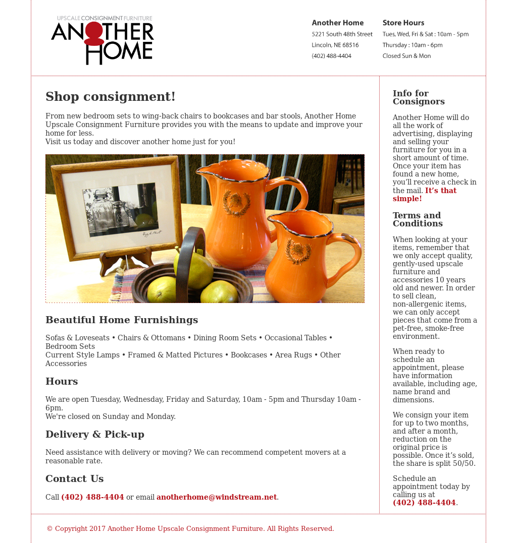 Another Home Upscale Consignment Furniture Compeors Revenue And Employees Owler Company Profile