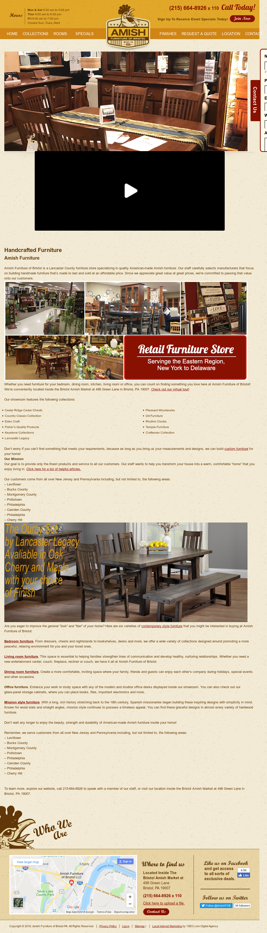 Amish Furniture Of Bristol Compeors Revenue And Employees Owler Company Profile