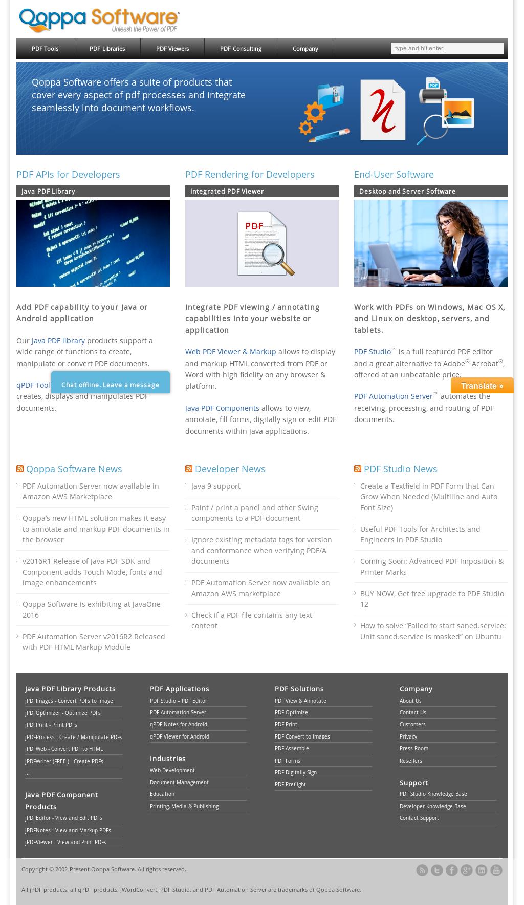 Owler Reports - Qoppa Software Blog jOfficeConvert v2017R1