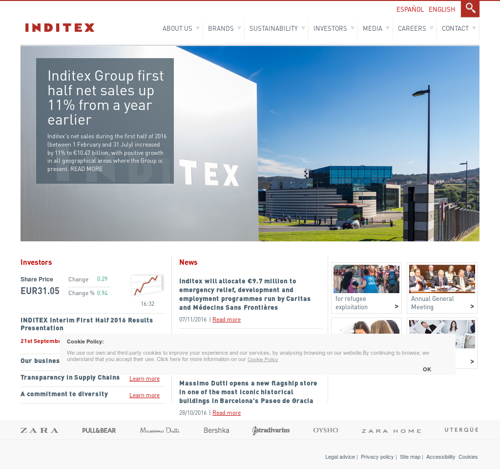 Inditex Competitors, Revenue and Employees - Owler Company