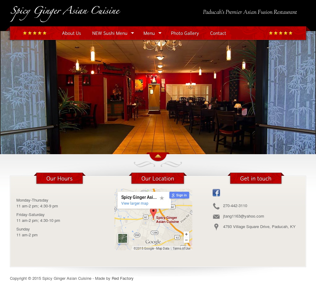 Spicy Ginger Asian Cafe 48