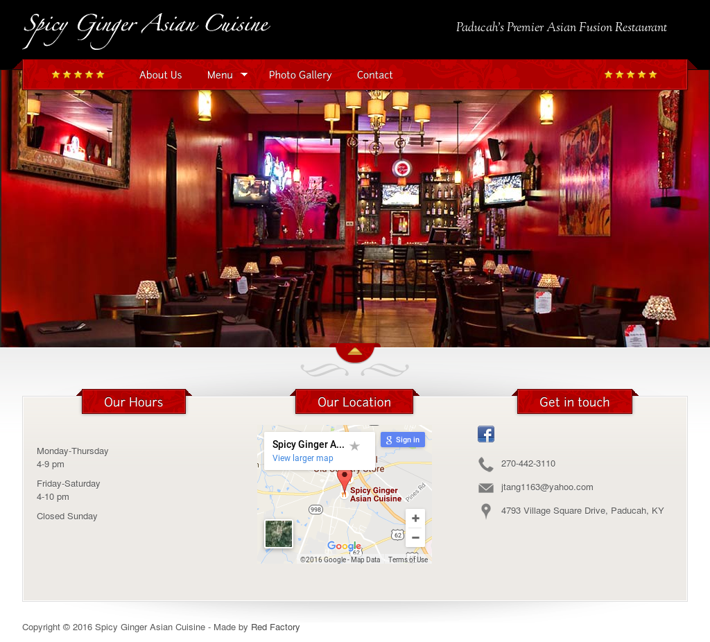 Spicy Ginger Asian Cafe 31