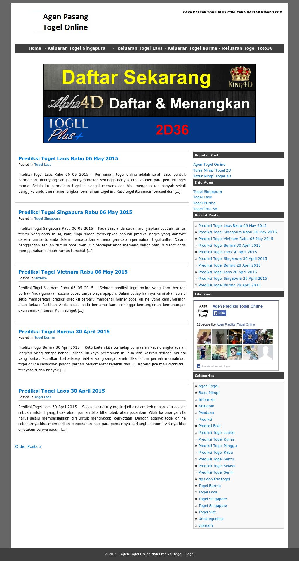 Agen Prediksi Togel Online Competitors, Revenue and