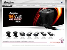 Energizer Power website history