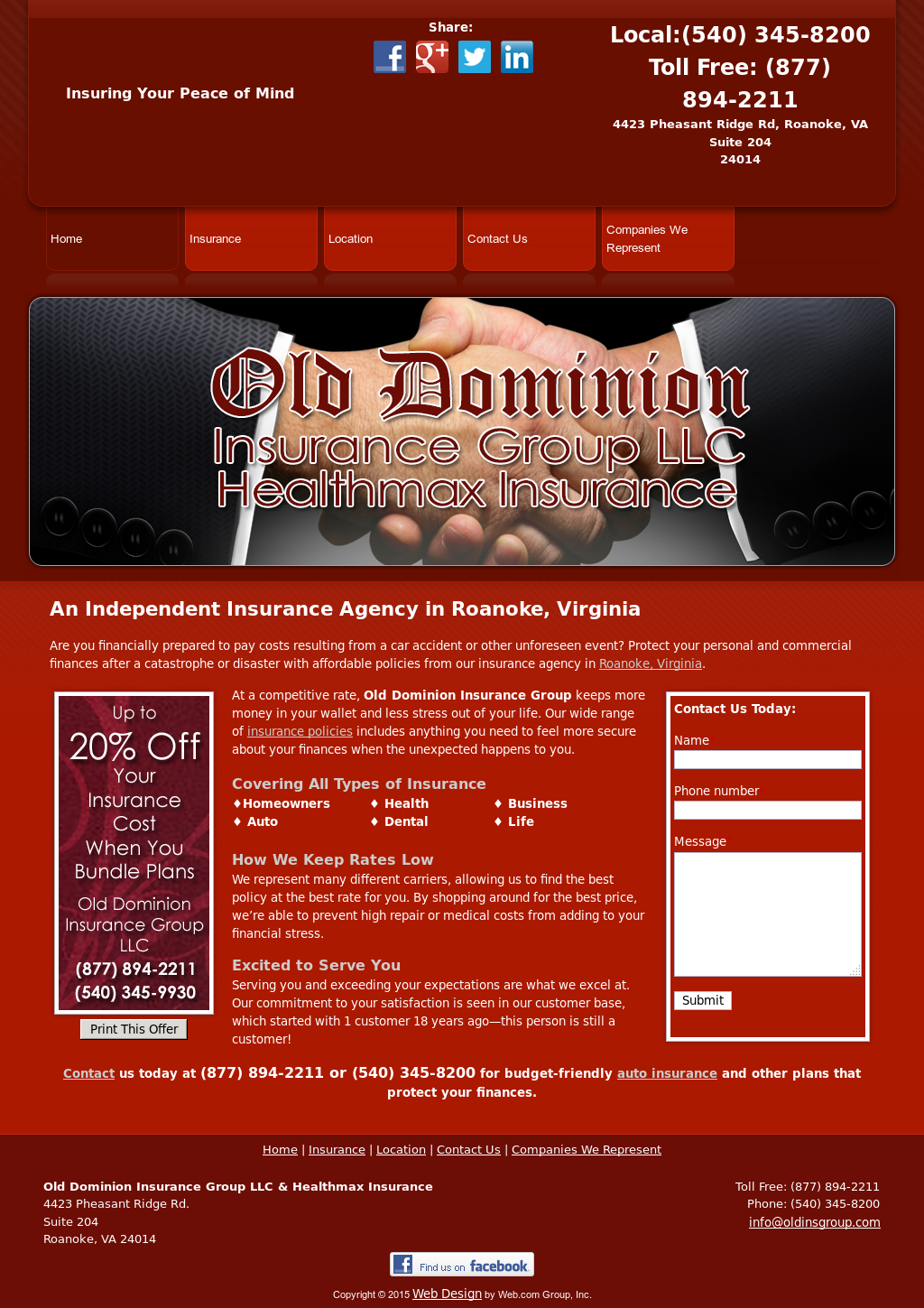 Old Dominion Insurance >> Old Dominion Insurance Group Competitors Revenue And Employees